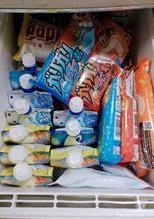 我が家の夏バージョン冷凍庫