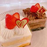お散歩がてらケーキ屋さんに行くのが楽しみ